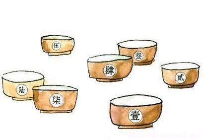 每天分一大桶粥