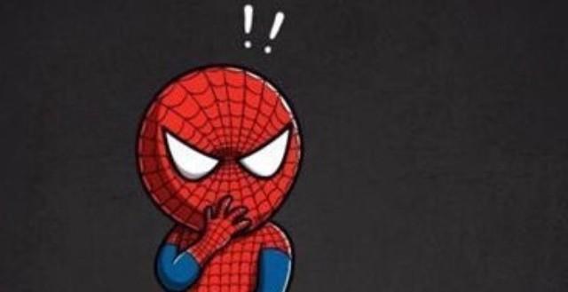 原来蜘蛛侠小时候长这样子,太cute了!